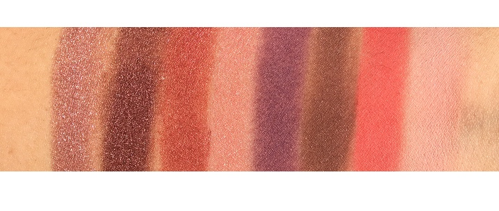 Viseart Petit Pro 1, 2, 3 swatches and review www.calibeaute.com