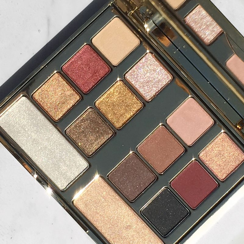 Milani Gilded Desires Face & Eye Palette swatches & Review www.calibeaute.com