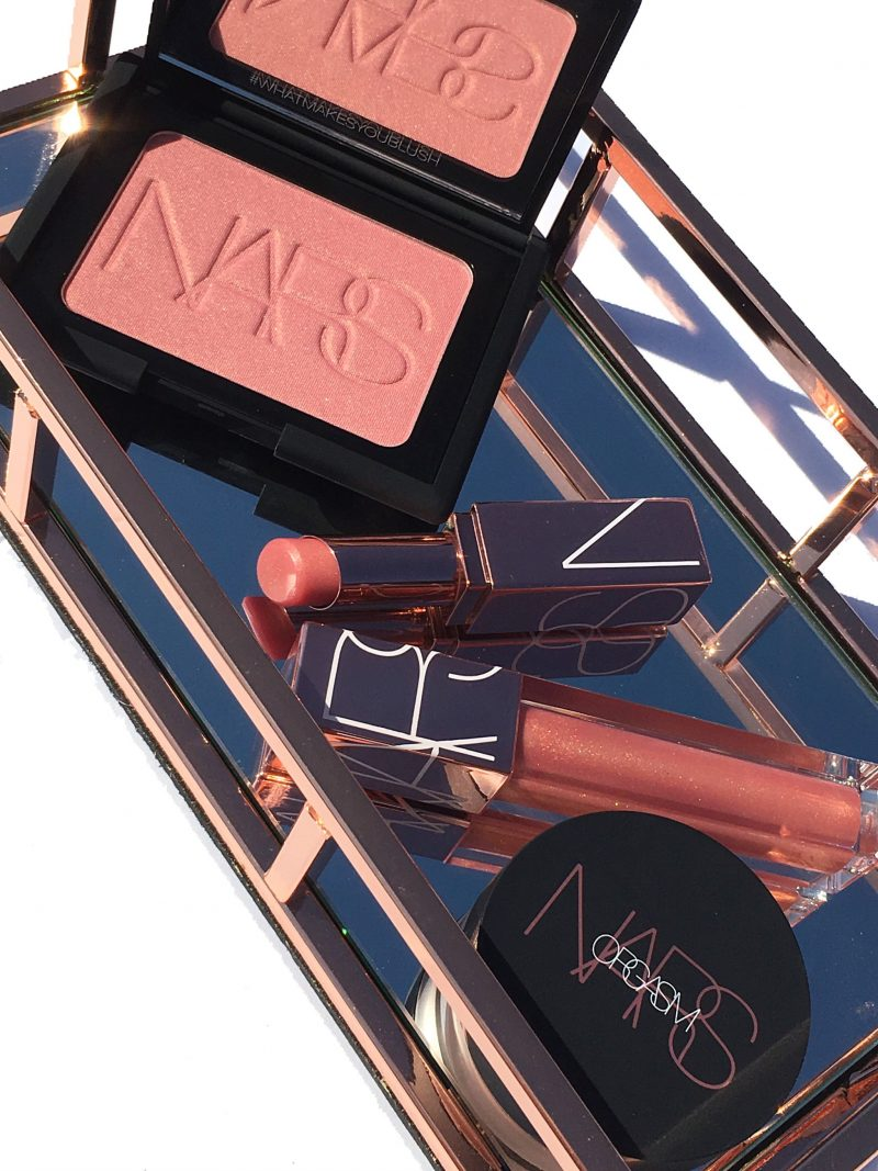 NARS Orgasm collection review and swatches www.calibeaute.com