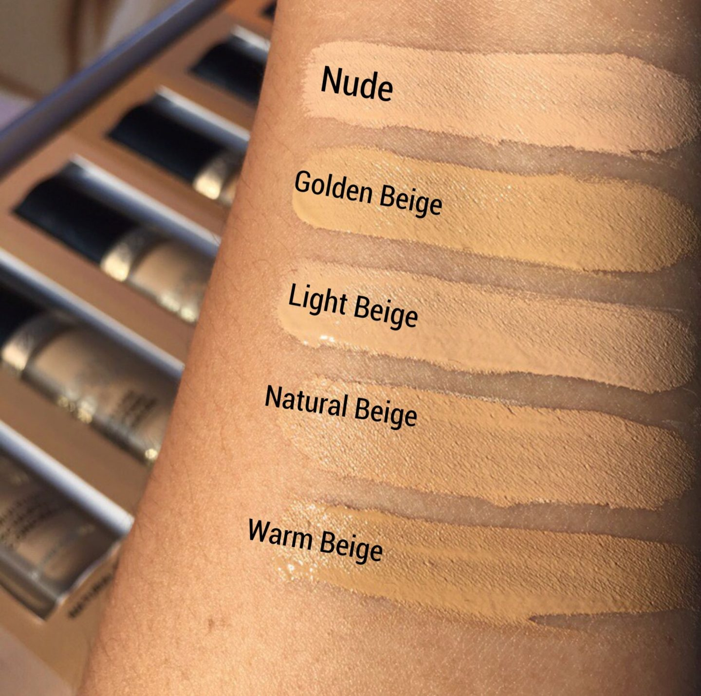 Too Faced Born This Way Light Beige Vs Natural Beige