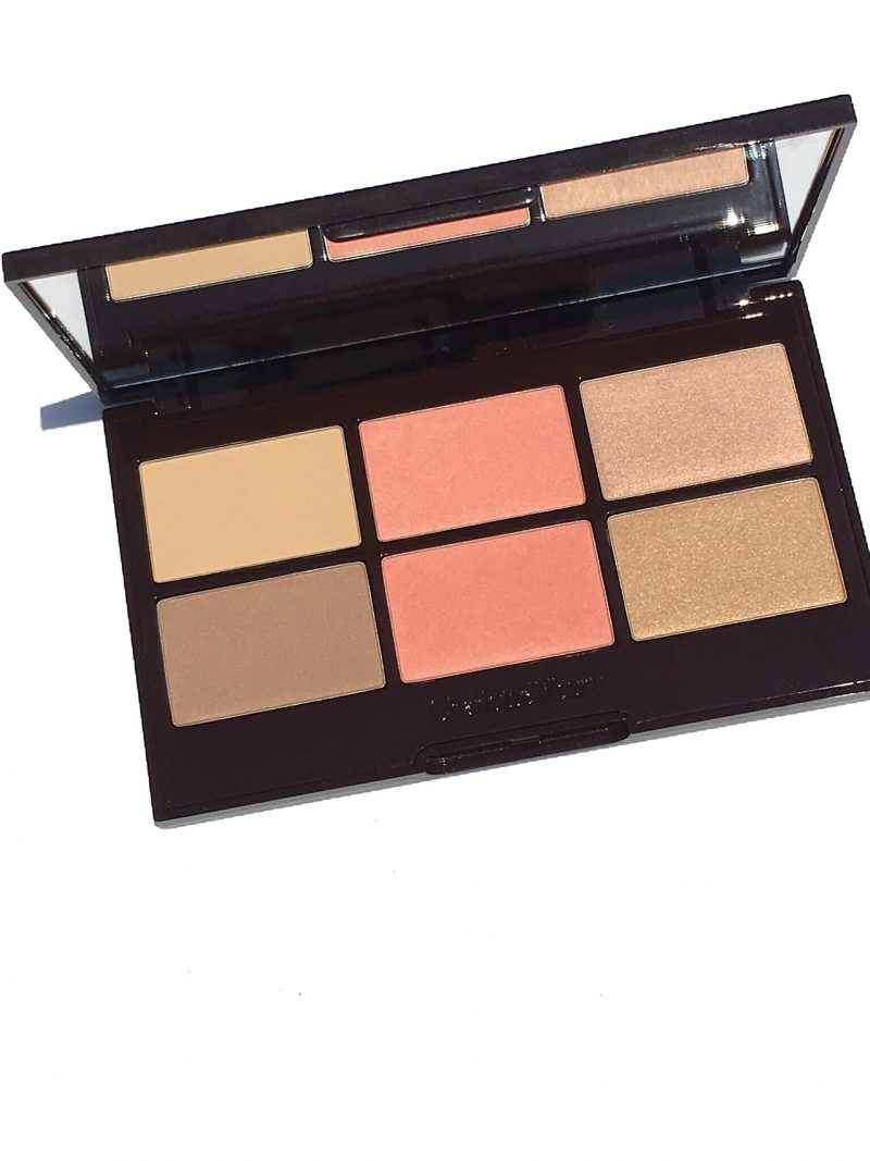 Nordstrom Anniversary Sale Charlotte Tilbury Pretty Glowing Palette swatches and MAC Nordy Girl Palette Swarches NARS Endless Summer www.calibeaute.com