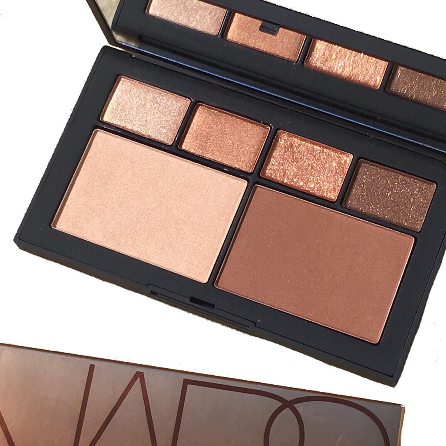 NARS Atomic Blonde Eye and Cheek Palette Review & Swatches