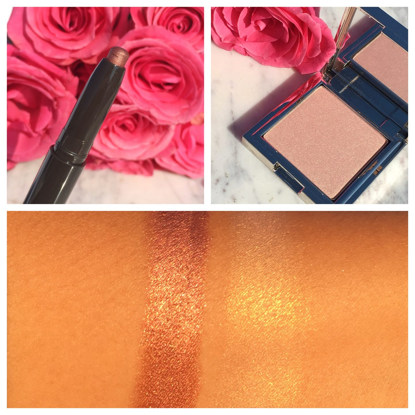 Jouer Rose Gold Collection Review Swatches www.calibeaute.com