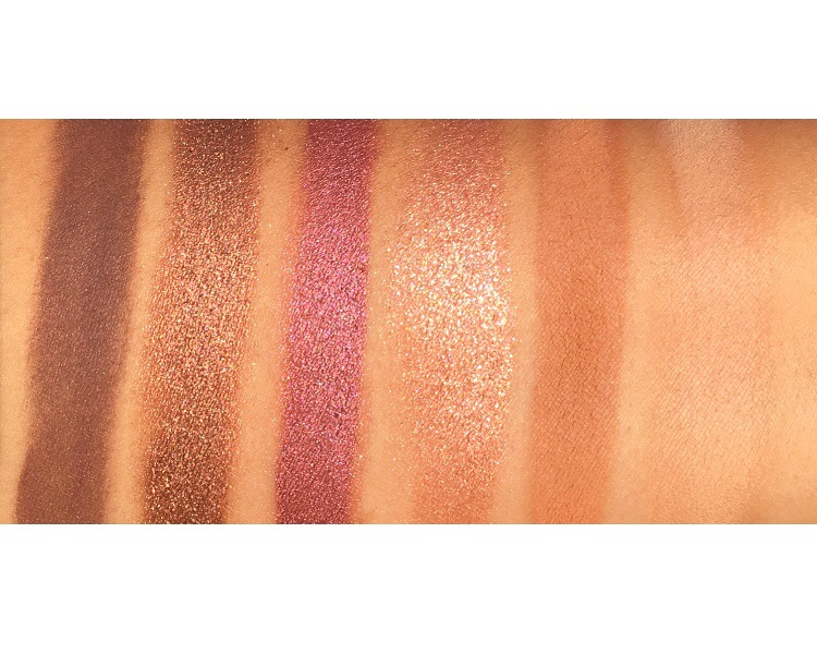 Urban Decay Aphrodisiac Collection swatches review www.calibeaute.com