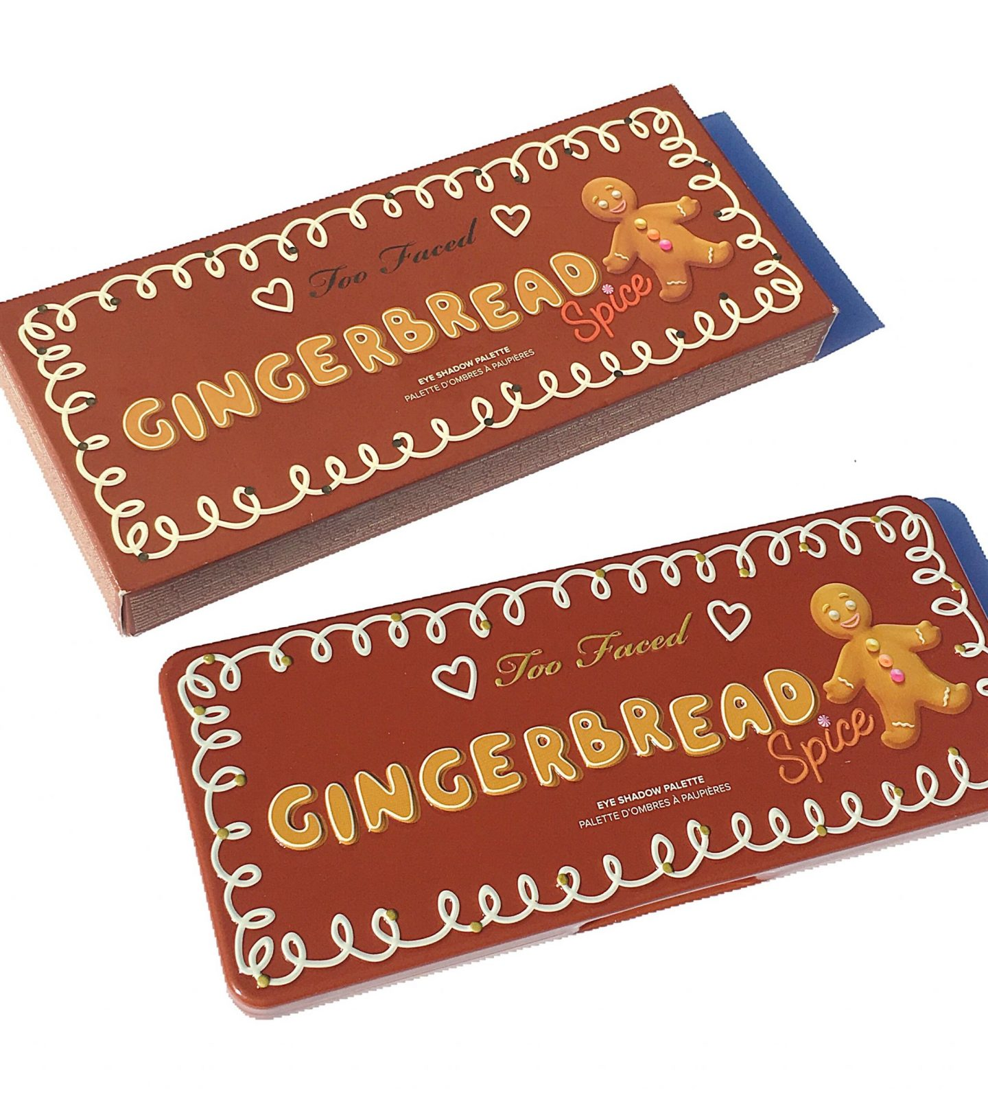 Too Faced Gingerbread Spice Palette Holiday 2018 Review & swatches www.calibeaute.com