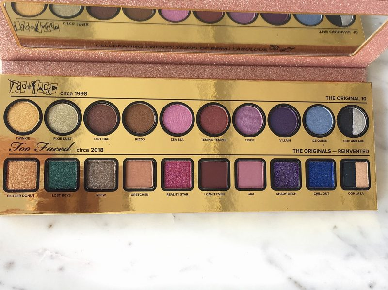 Too Faced Cheers to 2o Years Anniversary Collection review and swatches www.calibeaute.com