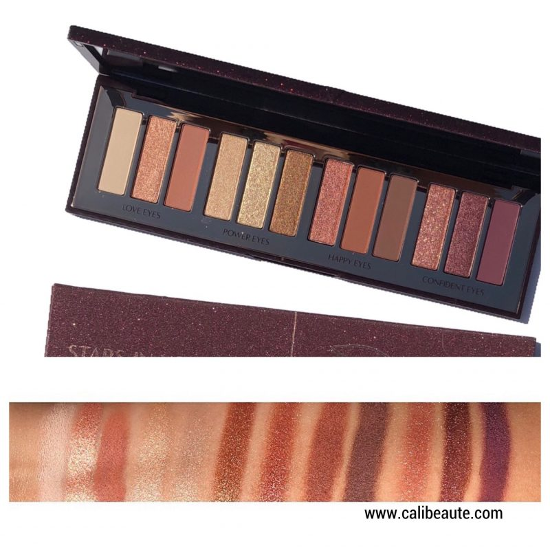 Charlotte Tilbury Stars in Your Eyes Palette review and swatches www.calibeaute.com