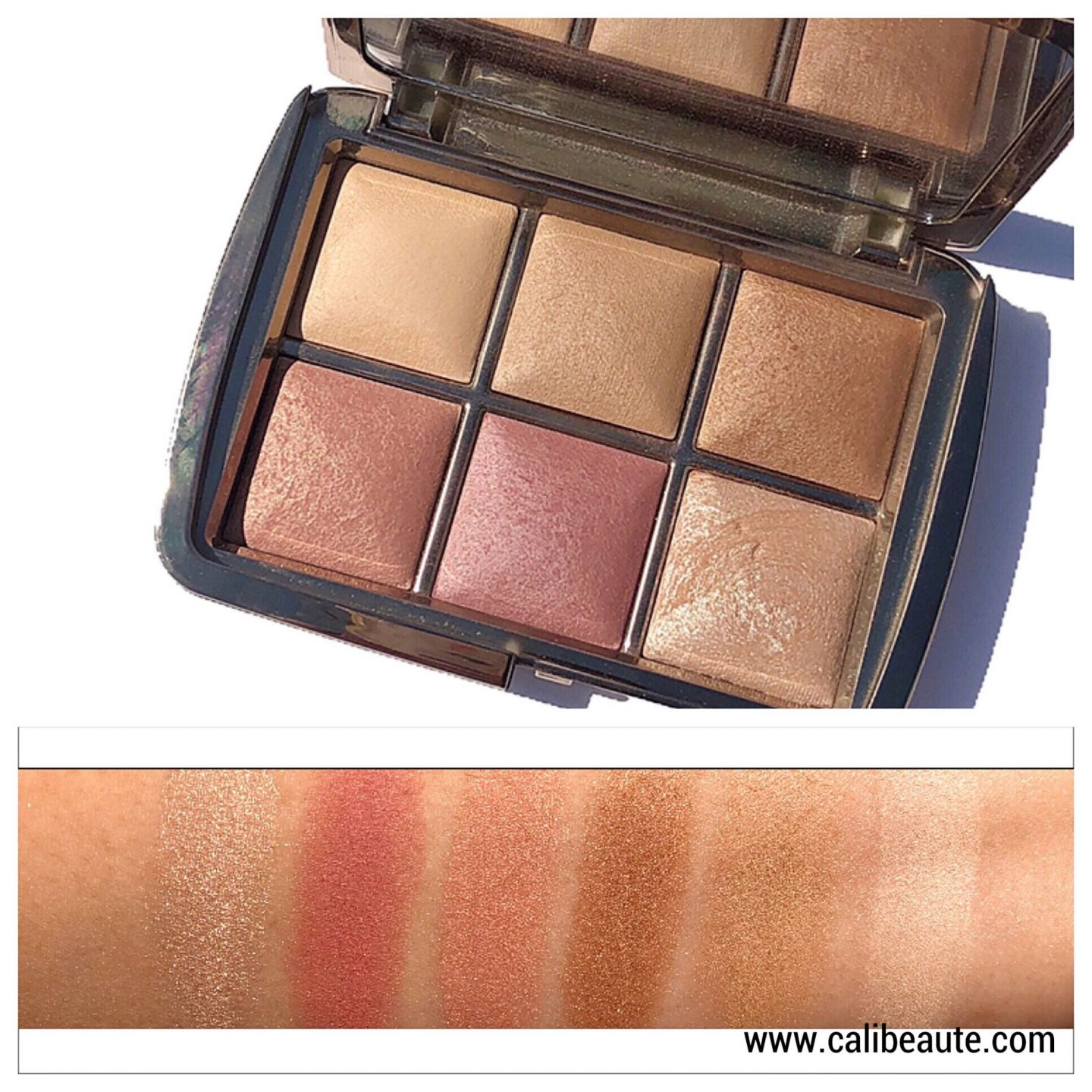 Hourglass Ambient Unlocked review and swatches www.calibeaute.com