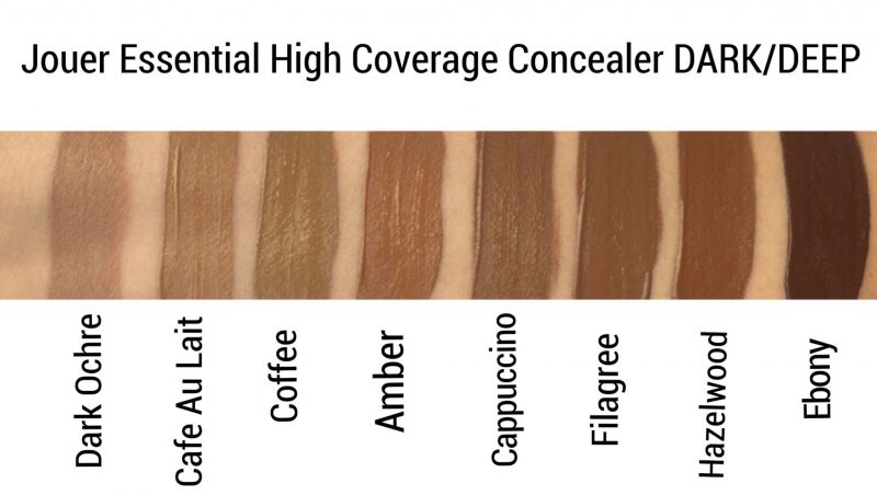 Jouer Concealer Review and swatches www.calibeaute.com