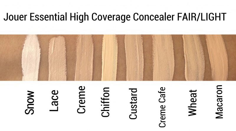 Jouer Concealer Review and swatches