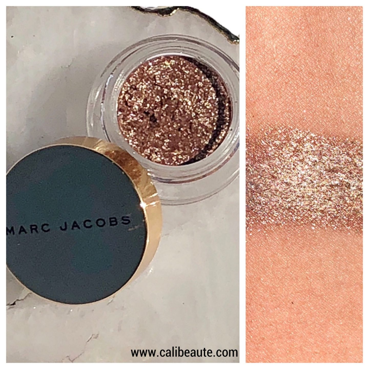 Marc Jacobs Gleam Girl sequins eyeshadow www.calibeaute.com