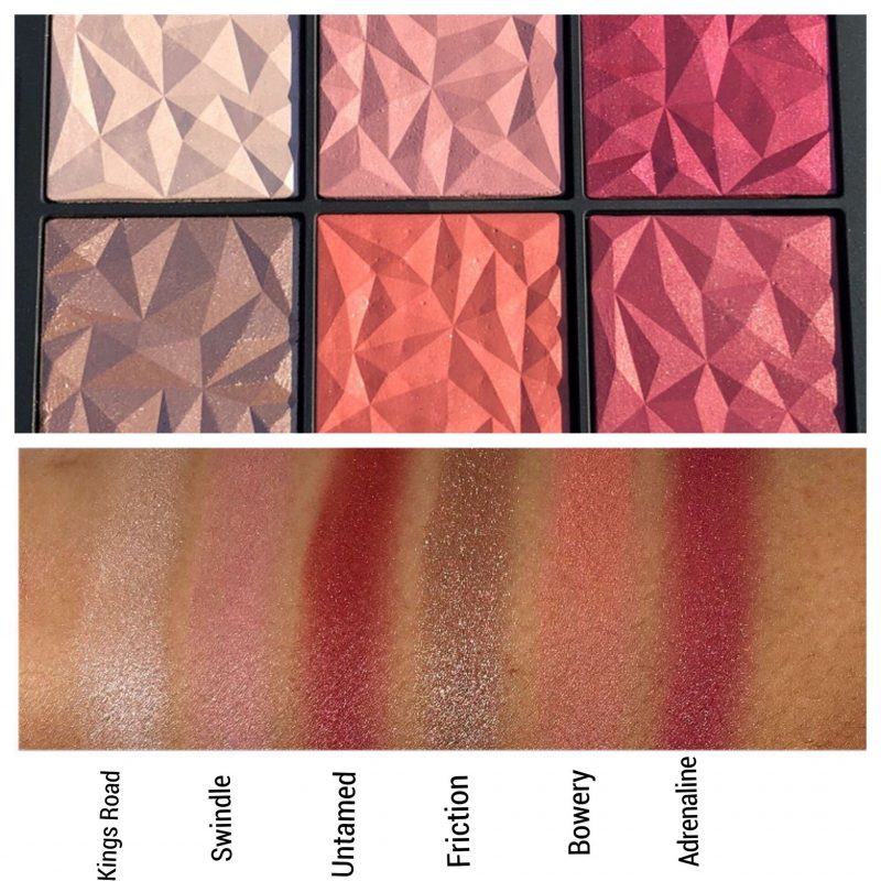 NARS Hot Tryst Palette Review & Swatches www.calibeaute.com