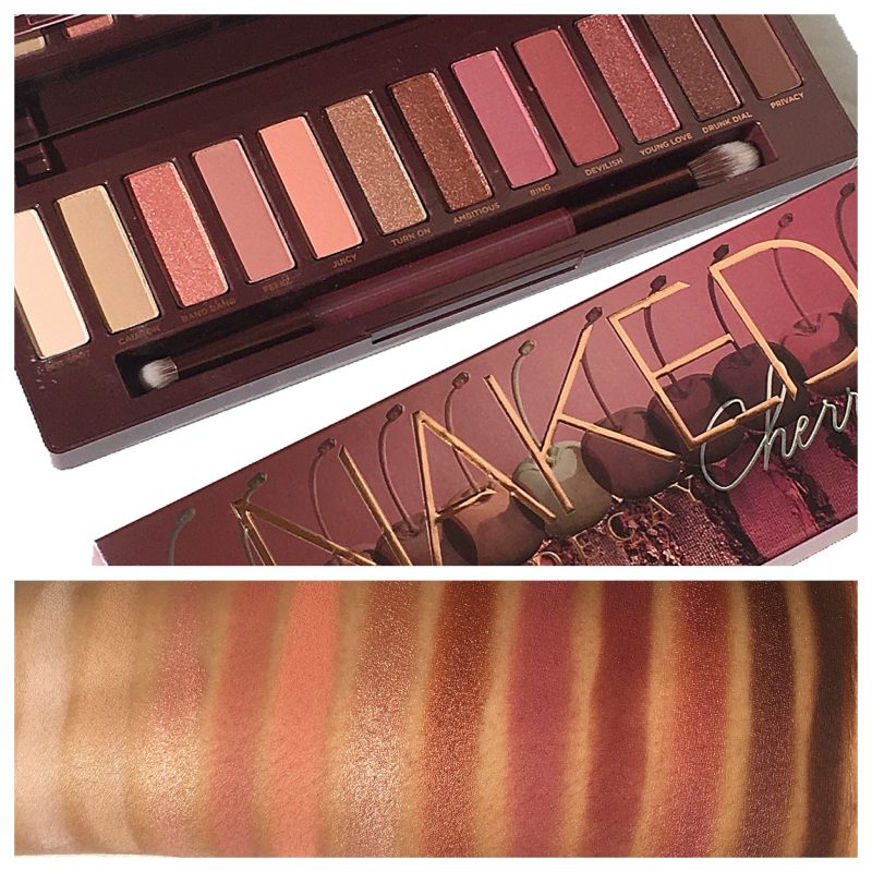 Urban Decay Naked Cherry Review & swatches www.calibeaute.com