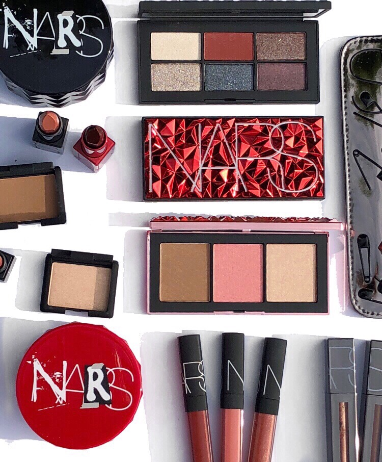 NARS Holiday Color Collection 2018 review swatches www.calibeaute.com