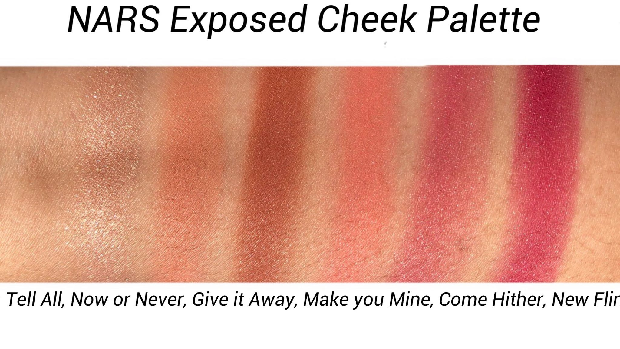 Exposed Cheek Palette by NARS #5