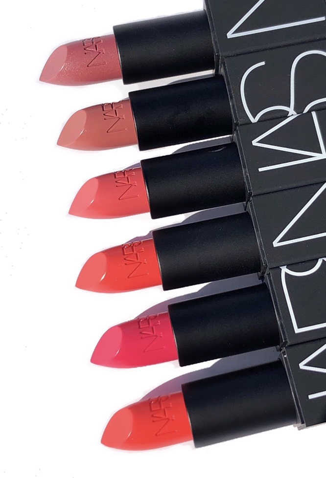 NARS 25 Year Anniversary Lipstick Swatches + NARS Makeup Your Mind Face Palette