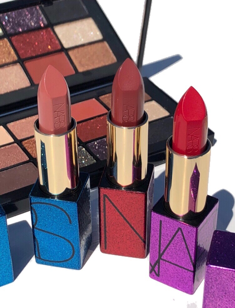 NARS Studio 54 Holiday 2019 Audacious Lipstick Swatches