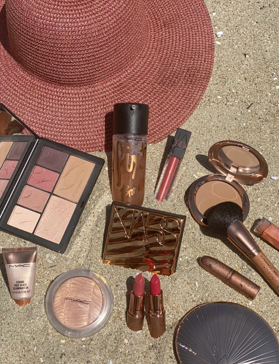 Summer Makeup featuring the MAC Bronzed Collection,  NARS, and Charlotte Tilbury's Airflash Bronzer