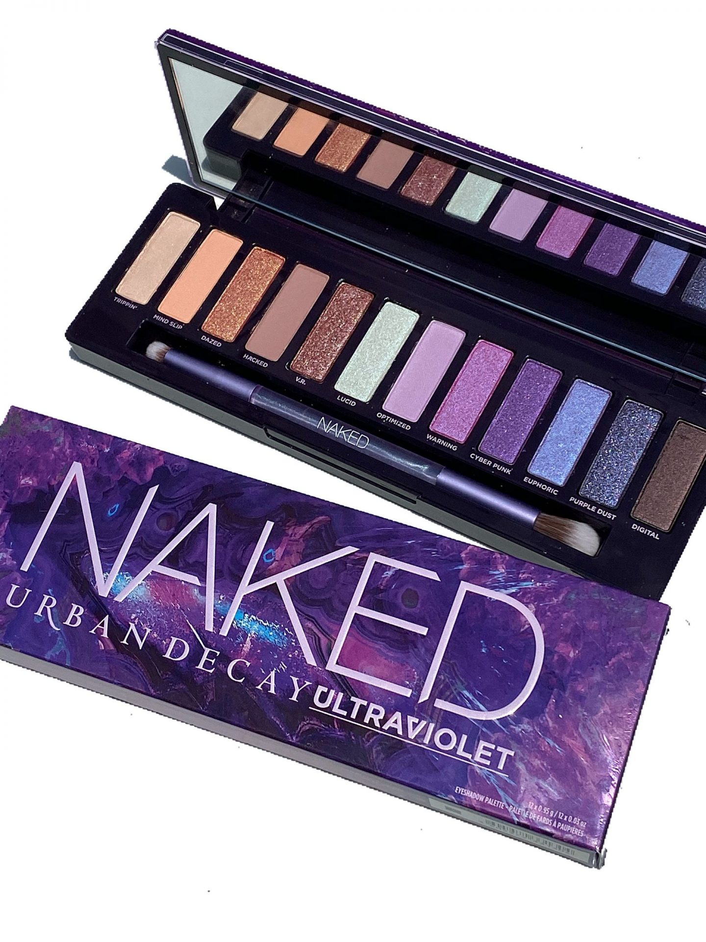 Urban Decay Naked Ultraviolet Palette Eyeshadow Photos & Swatches
